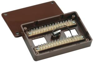 ABUS Aufputz-Lötverteiler 32-polig VdS-C | VT4100B