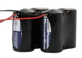 Ersatzbatterien FU2986 für Secvest Funk-Außensirene