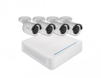 ABUS Überwachungsset mit 4 Außen IR-Kameras | TVVR30408