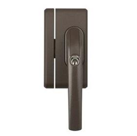 Secvest Funk-Fenstergriff-Sicherung FO 400 E, braun | FUFT50050B