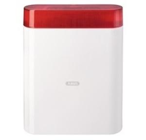 ABUS Außensirene mit Blitzleuchte rot | AZSG10000